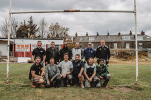 Viessmann and the Heat for Good team delivers rugby club makeover